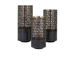 Modi Pierced Outdoor lanterns  Set of 3