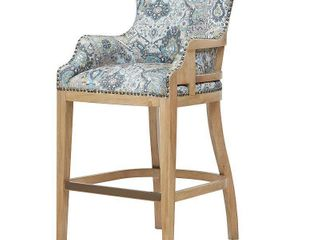 Madison Park Stephen Grey Multi Bar Stool  Retail 286 99
