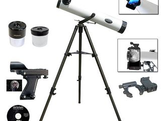 800mm X 80mm Reflector telscope   Smartphone Adapter  Retail 129 99