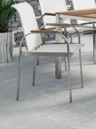 Aruba Stainless Steel arm chair 1 only homestyle