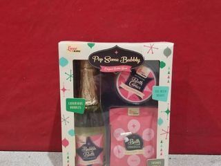 Pop Some Bubbly Bath Time Gift Sets Original Bubble Scent luxe By Mr Bubble