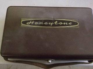 old Honeytone reel to reel