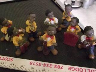 kid jazz band figures