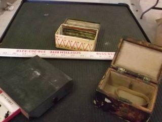 jewelry box   portable chest