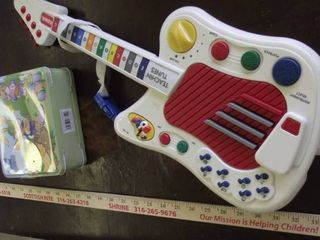 playskool guitar   lunchbox
