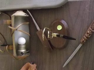 headboard light   letter opener   pen holder