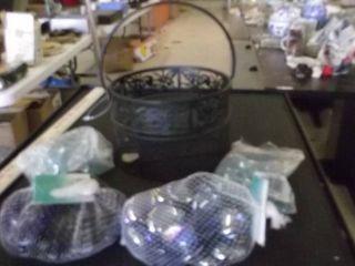 glass stones   black kettle