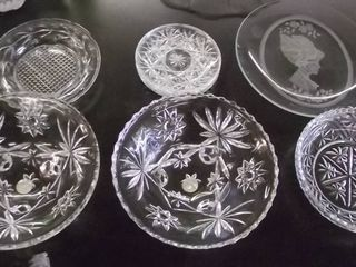 cut glass plates