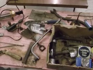 old tool lot