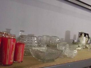 glassware   cut glass items   coffee pot