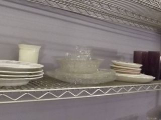 clear glass plates   plates   glasses   pitcher