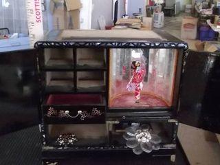 oriental jewelry box