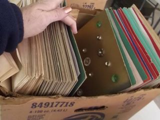 huge button collection   carded 2