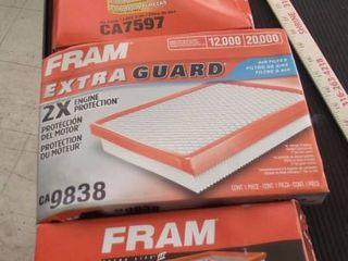 Fram air filters