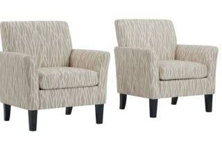 Copper Grove Fastiv Flared Armchairs  Set of 2  Retail 448 99