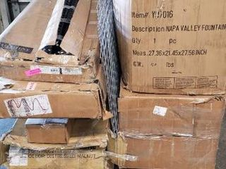 Pallet Of Misc Items  Some Items Are Incomplete Or Damaged