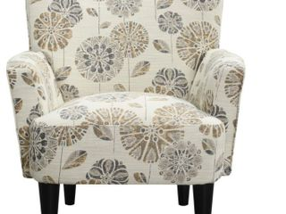 Copper Grove Trillium Flower Power Accent Chair  Retail 317 99