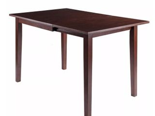 Perrone Drop leaf Dining Table  Walnut Finish