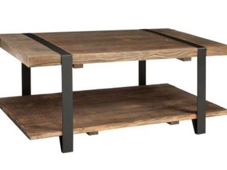 Carbon loft Kenyon Natural Rustic Coffee Table   Retail 315 99