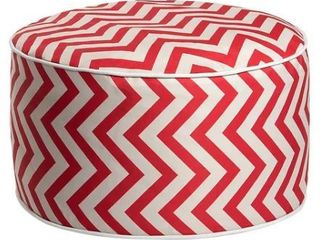 Art leon Outdoor Patio Inflatable Round Pouf Footstool