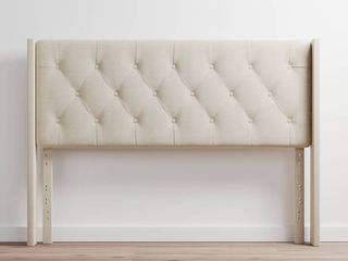Brookside Bella low Profile Wingback Full Size Headboard  Cream  Retail 153 49