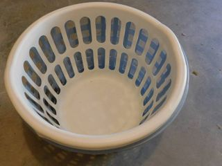 laundry Baskets  2 ea