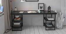 SavaHome Bard Study Desk  Retail 178 49 walnut