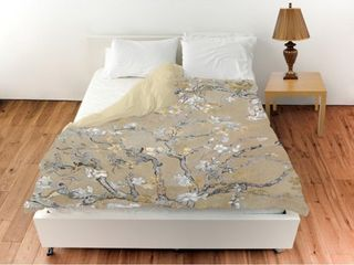 Oliver Gal  Van Gogh in Gold Blossoms Inspiration Duvet Cover only Retail 174 99