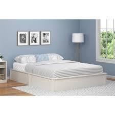 Porch   Den Talmage Platform Queen size Bed Frame  Retail 228 99 ivory
