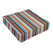 sunbrella colorful strip cushion