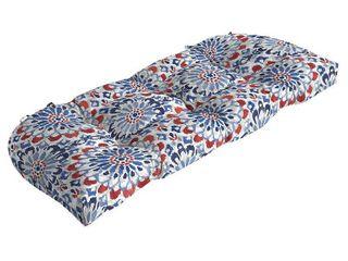 Arden Selections Clark Wicker Settee Cushion   18 in l x 41 5 in W x 5 in H