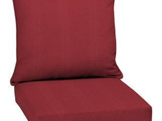 Arden Selections Caliente Canvas Texture Outdoor Deep Seat Set   46 5 in l x 25 in W x 6 5 in H