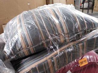 Sunbrella Indoor  Outdoor Deep Seating Cushion and Pillow Set  Retail 161 49