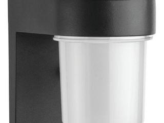lithonia lighting OSC lED 120 PE Bl M4 lED Entry light  Black