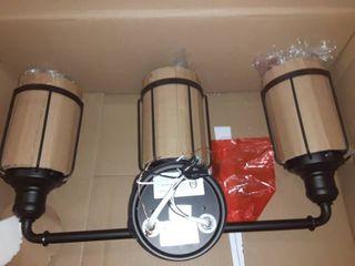 3 Jar lighting Fixture