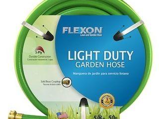 FlEXON 5 8 in x 50 ft light Duty Vinyl Green Hose