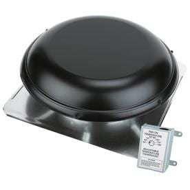 AIR VENT INC  Black Roof Power Ventilation
