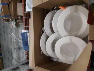 Utilitech 5  Or 6  6 pack 85 Watt Equiv White led Recessed Downlight