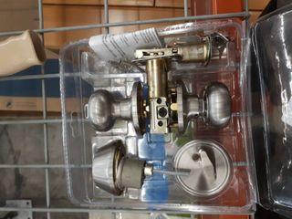 Gatehouse Combination Entry Deadbolt Single Cylinder Satin Nickel 0037039