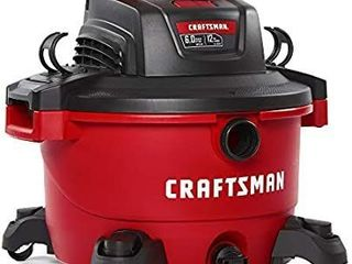 Craftsman Wet Dry Vac Vacuum 12 Gallon 6 Peak Hp Home Shop Garage Cleaner