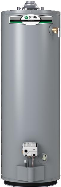 AO Smith Signature Select 40 Gallon Natural Gas Tank