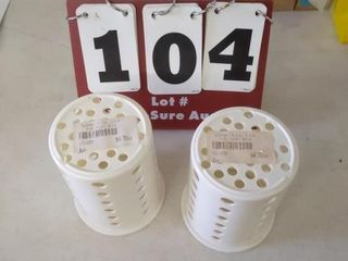 2  4  Cylinder Silverware Holders