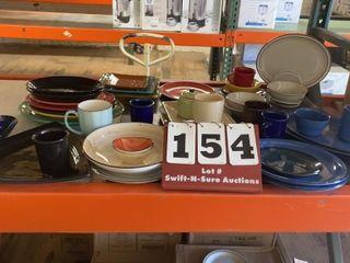 Assorted Color Dishes  Tuxton  iti  etc