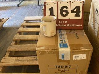 Case of Tiara 8oz  Mugs