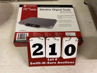 Slimline Digital Scale