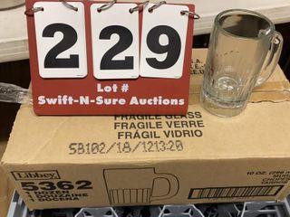 Case of Glass Mugs