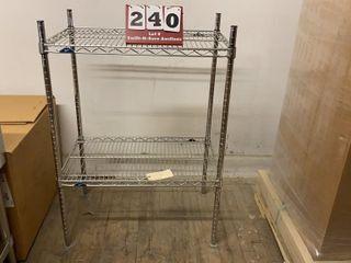 Two shelf Metal Rack