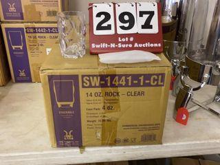 Case of 4 Dozen 14oz  Clear Beverage Cups