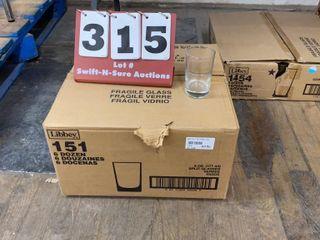 Case of 6oz  Beverage Glasses