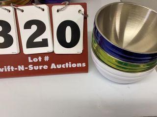 Set of 3 Vollrath Bowls